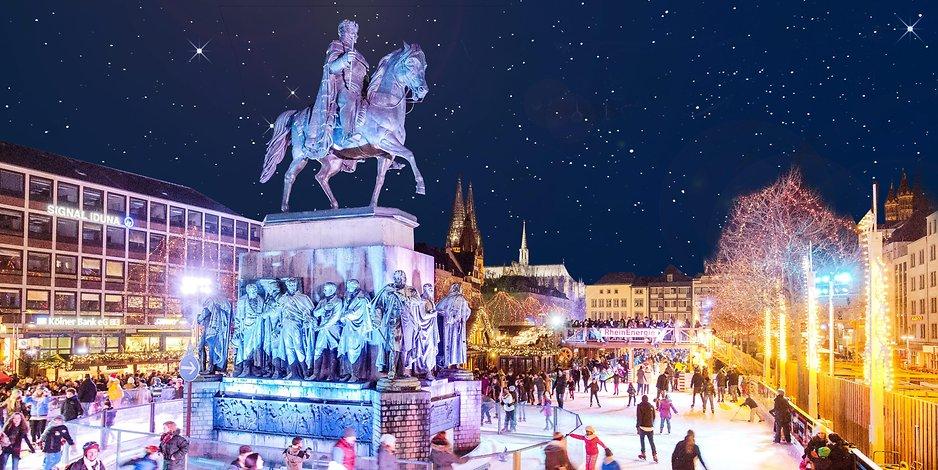 Weihnachtsmarkt Wuppertal öffnungszeiten.Invitation To The Evening Excursion Ice Skating At Cologne
